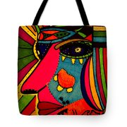 Determination - Face - Expression Tote Bag