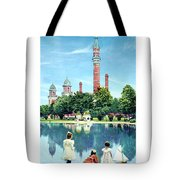 Detroit - Gladwin Waterworks Park - Jefferson Avenue At The Detroit River - 1905 Tote Bag