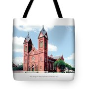 Detroit - Sheridan Avenue - St Anthony Catholic Church - 1910 Tote Bag