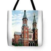 Detroit - St Mary Catholic Church - Monroe Avenue - 1910 Tote Bag