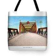 Detroit - The Belle Isle Bridge - 1908 Tote Bag