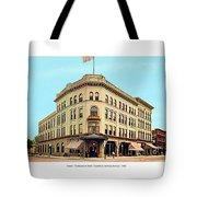 Detroit - The Brunswick Hotel - Grand Rive And Cass Avenues - 1900 Tote Bag