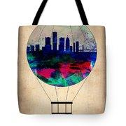 Detroit Air Balloon Tote Bag