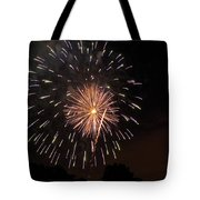 Detroit Area Fireworks -10 Tote Bag