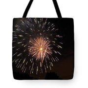 Detroit Area Fireworks -10 Tote Bag