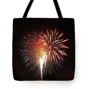 Detroit Area Fireworks -2 Tote Bag