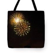Detroit Area Fireworks -3 Tote Bag