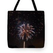 Detroit Area Fireworks -5 Tote Bag