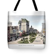 Detroit - Cadillac Square - 1905 Tote Bag