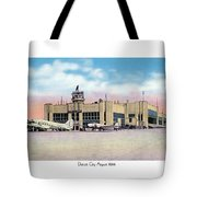 Detroit - City Airport - 1944 Tote Bag