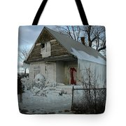 Detroit Ice House Tote Bag