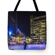 Detroit Ice Rink  Tote Bag