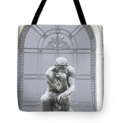 Detroit Institute Of Art Statue Tote Bag