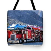Iron Road Palm Springs Tote Bag