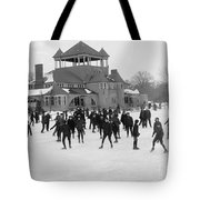 Detroit Michigan Skating At Belle Isle Tote Bag