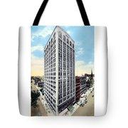 Detroit - The Kresge Building - West Adams Street - 1918 Tote Bag