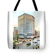 Detroit - The Majestic Building - Woodward Avenue - 1900 Tote Bag