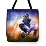 Detroit Tiger Alex Avila Tote Bag