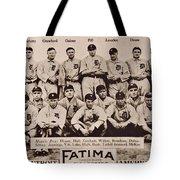 Detroit Tigers 1913 Tote Bag