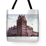 Detroit - Union Depot - Fort Street - 1907 Tote Bag