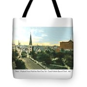 Detroit - Woodward Avenue North Grand Circus Park - Central Methodist Episcopal Church - 1920 Tote Bag