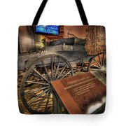 Detroits First Car Tote Bag