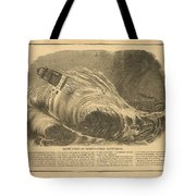 Detstruction Of Minots Ledge Lighthouse Tote Bag