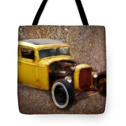 Deuce Coupe On Rust  Tote Bag