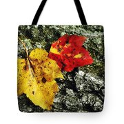 Deux Feuilles Tote Bag by JAMART Photography