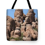 Devil Canyon Rim Rocks Tote Bag