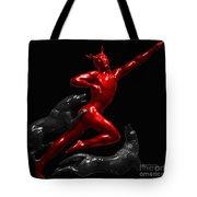Devil Dog Tote Bag