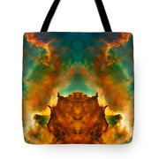 Devil Nebula Tote Bag
