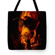 Devil Within Tote Bag