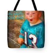 Devil Youre Going Down Tote Bag