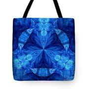 Devilish Dream Fractal Tote Bag