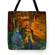 Devils Cavern Bari Greece Tote Bag