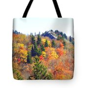 Devil's Courthouse In The Fall Tote Bag