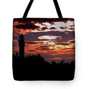 Devil's Island Lighthouse Tote Bag