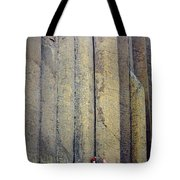 Devil's Tower Climbers Tote Bag