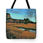 Devils Tower Daybreak Tote Bag