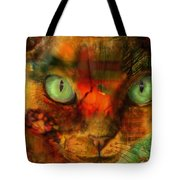 Devon Rex - Lit From Within Tote Bag