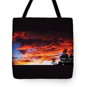 Devonshire Bay Sunset Tote Bag