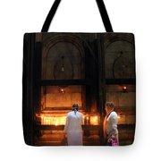Devotion In Jerusalem Tote Bag