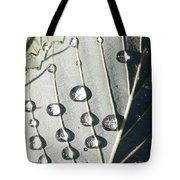 Dew Drops Tote Bag by Ekta Gupta