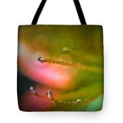 Dew On Azalea Flower Tote Bag