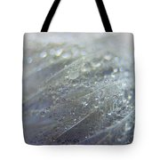 Dew On Down Tote Bag