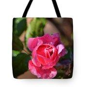 Dew Rose Tote Bag