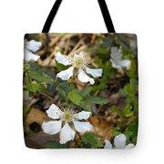 Dewberry Flower Tote Bag