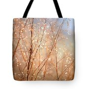 Dewdrop Morning Tote Bag