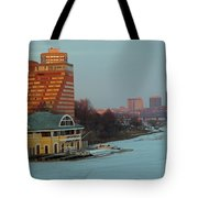 Dewolfe Boathouse Riverside Tote Bag